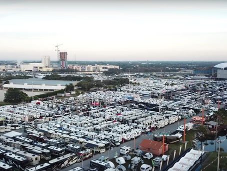 Le plus grand salon du VR aux États-Unis - Florida RV supershow