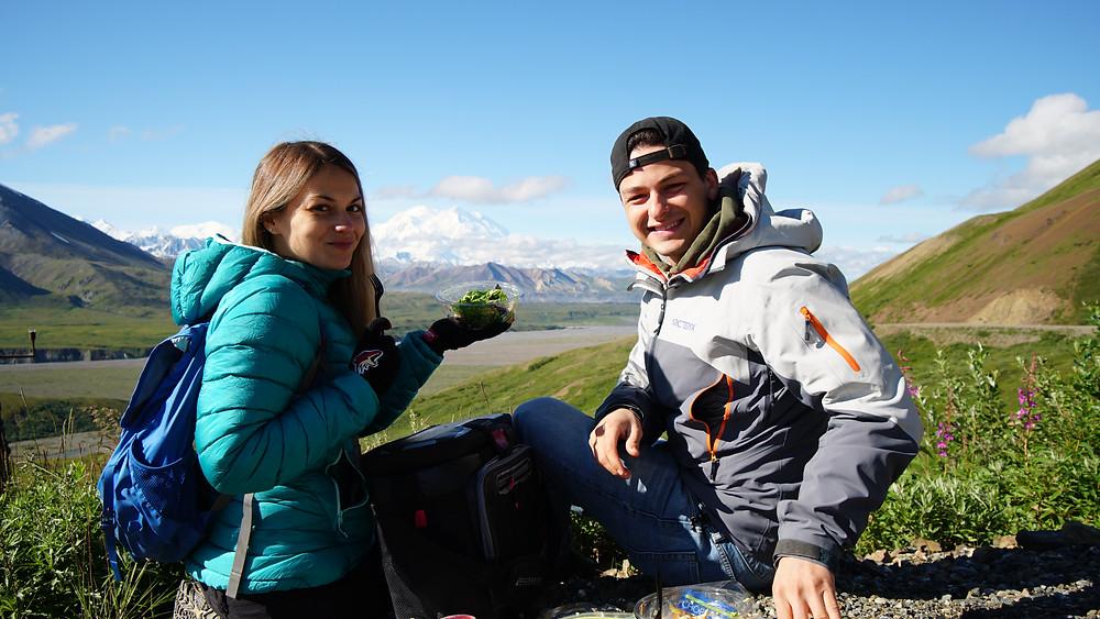 Lunch à Denali National Park