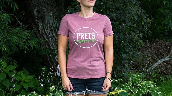 T-shirt PRÊTS pour la route