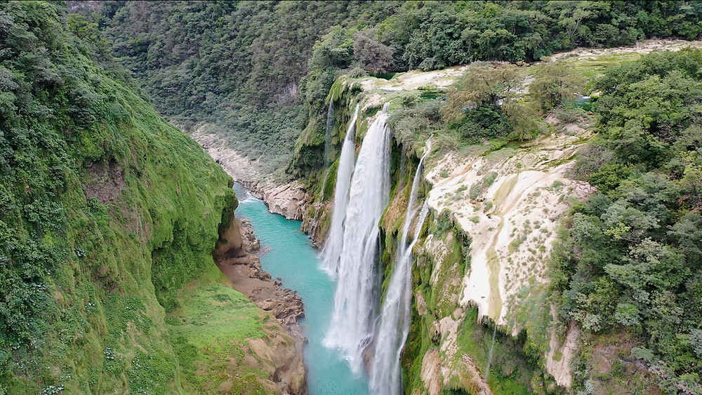 Cascadas de Tamul, Mexique
