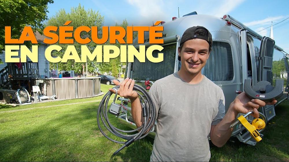 la sécurité en Camping