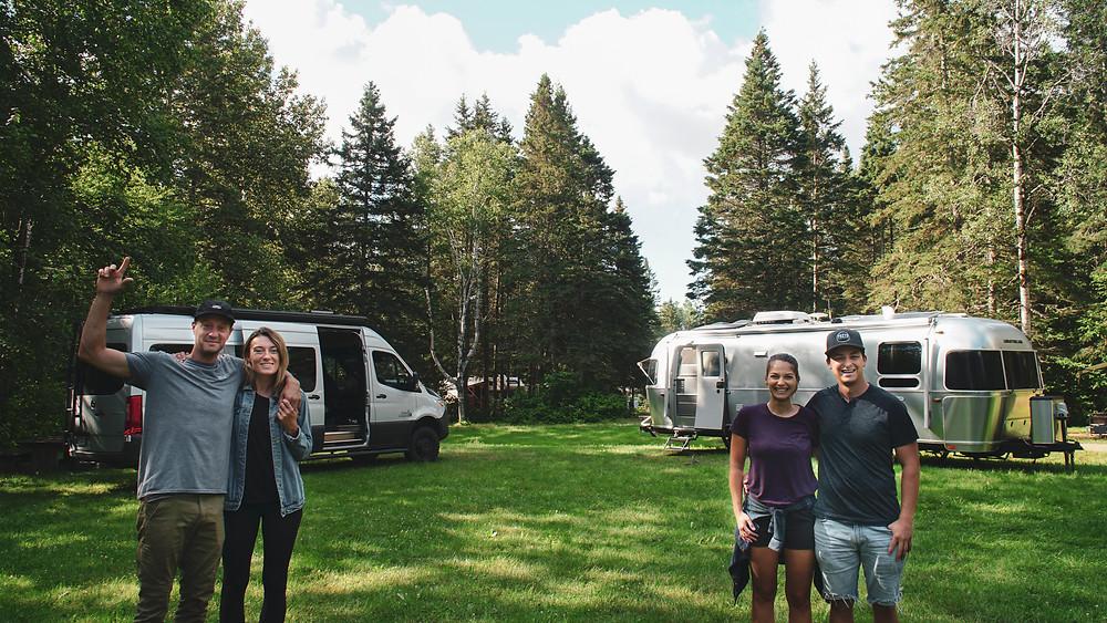 Van vs Caravane