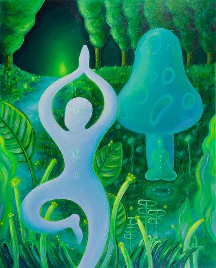 Dancing in the Mushrooms