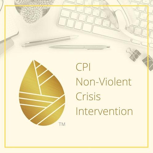 CPI Nonviolent Crisis Intervention-August 24, 25