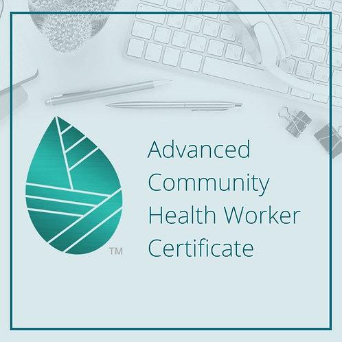 Advanced CHW Certificate