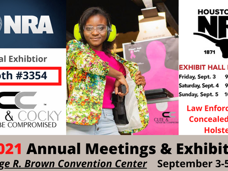 NRA Announces Cute & Cocky as 2021 Exhibitor at 150th Annual Meetings and Exhibits in Houston,Texas
