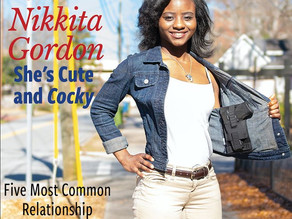 """She's Cute and Cocky!, Nikkita Gordon  CEO/ Founder of Cute & Cocky""- West Georgia Woman Magazine"