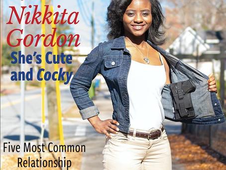 """She's Cute and Cocky!, Nikkita Gordon  CEO/ Founder of Cute & Cocky""- West Georgia Woman Magazine"