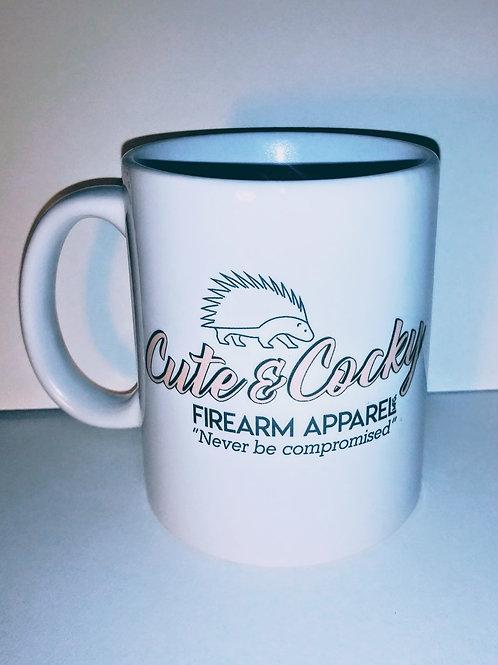 Cute & Cocky- Pink- Firearm Apparal MFG Mug