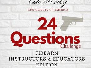 NEW: Firearms Industry Viral Challenge (#24QuestionsChallenge)