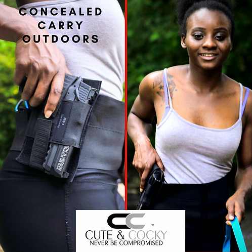 Cute & Cocky Waist Trainer and Holster