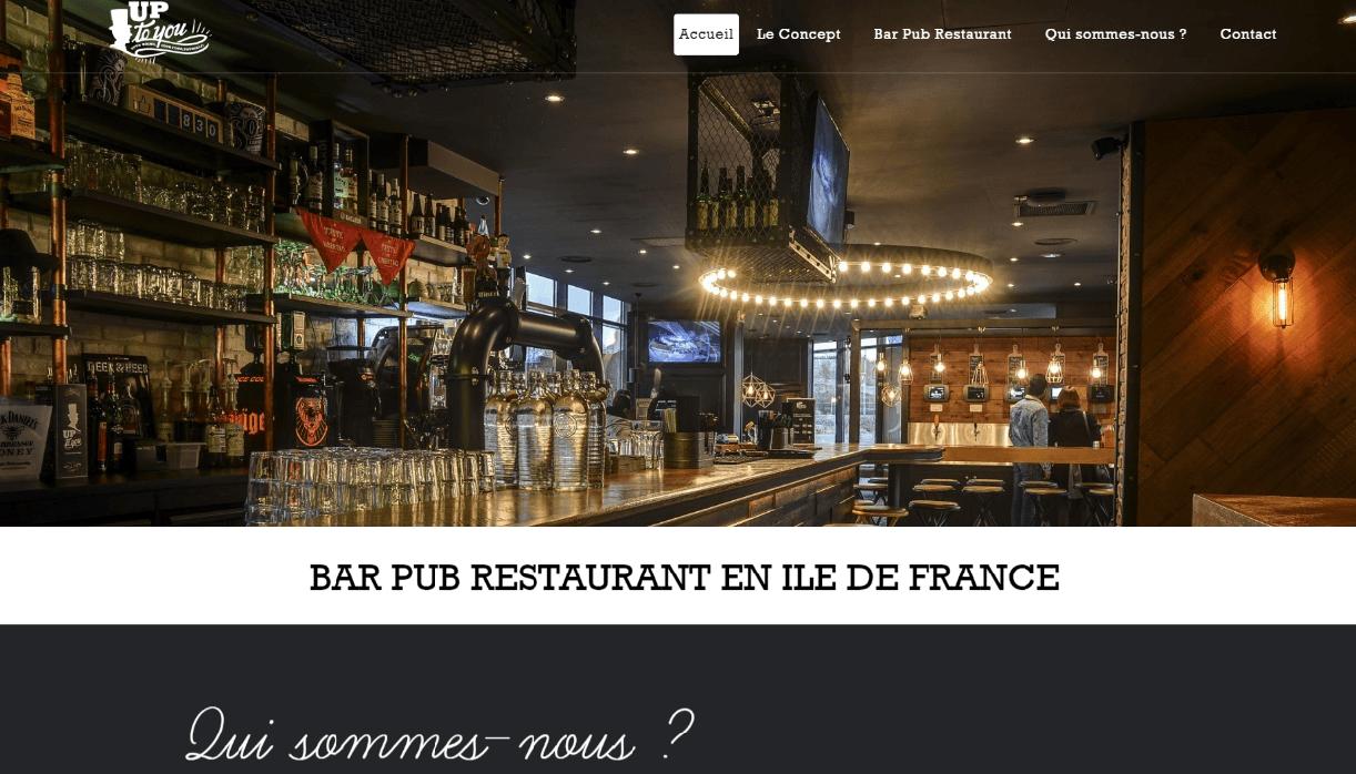 Site Up To You Bar Restaurant