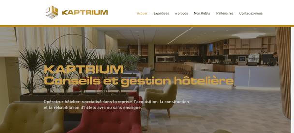 Création site internet Kaptrium