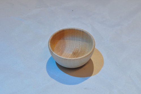 Wooden Offering Bowl