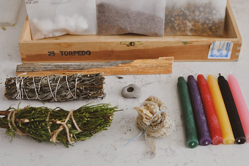 Lövjeri Trollbox: Herbal Witchcraft Kit
