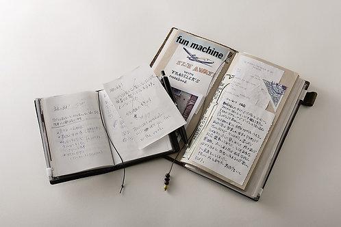 Traveler's Company Leather Passport Notebook