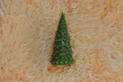 Jul Tree candle   100% Beeswax Candle