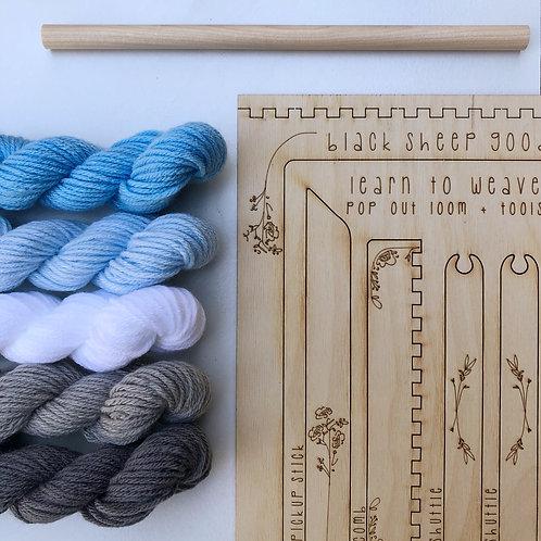 DIY Tapestry Weaving Kit - Cloud