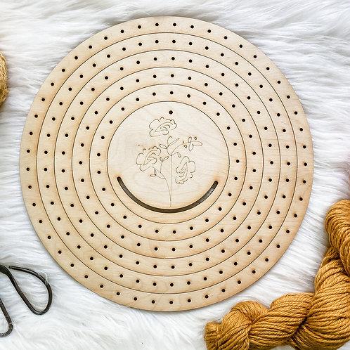 Circle Weaving Loom Set