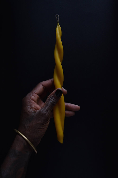 Twisted Candle (Taper)