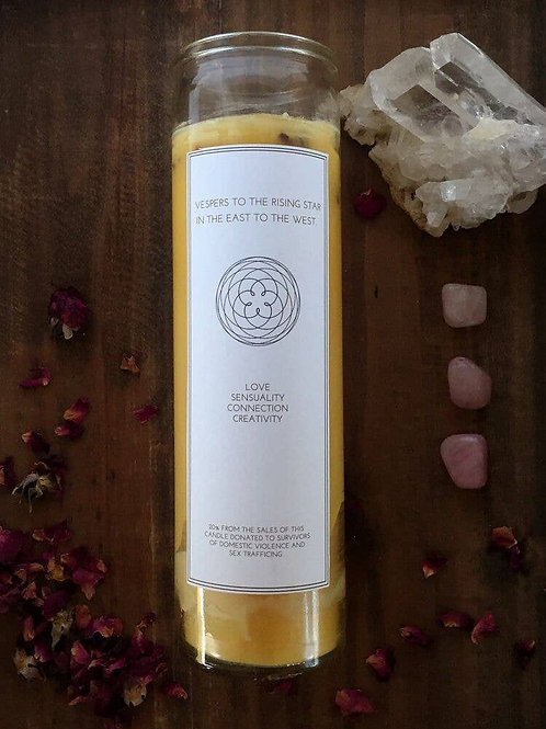 Venus Intention Candle | Beeswax