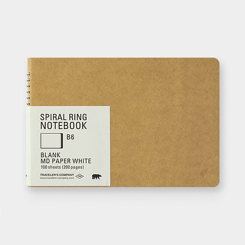 B6 Blank MD Paper White
