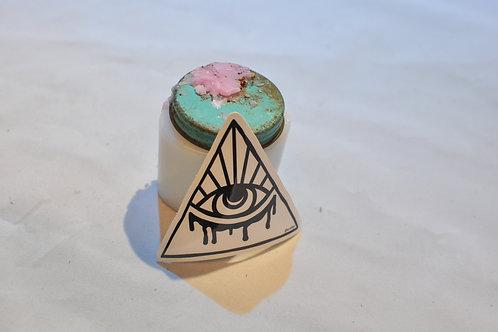 White Eye Sticker