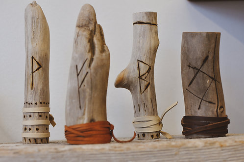 Rune Carved Altar Pieces