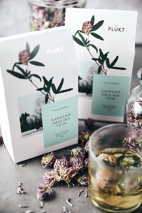 Red Clover Tea -loose whole buds,wellness tea,organic herbal