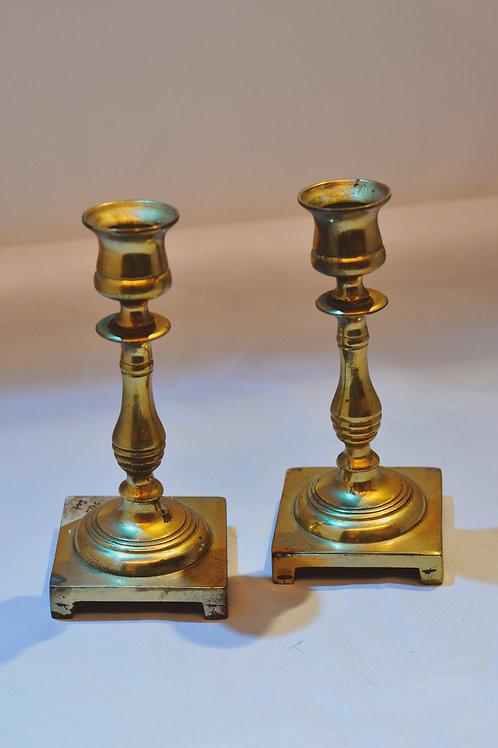Vintage Candle Holder Set