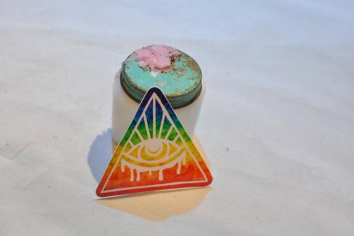 Rainbow Eye Sticker