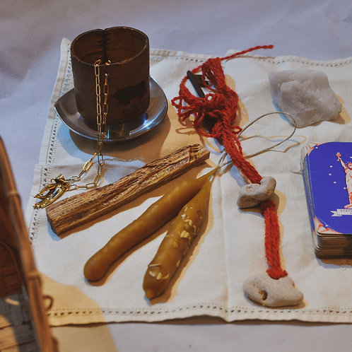Nordic Witch Kit - Jul Ritual Charged Spellkit