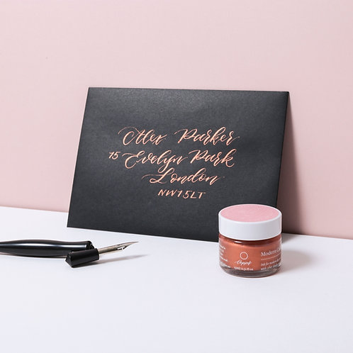 Copper Modern Calligraphy Ink