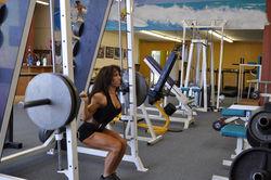 225# squat