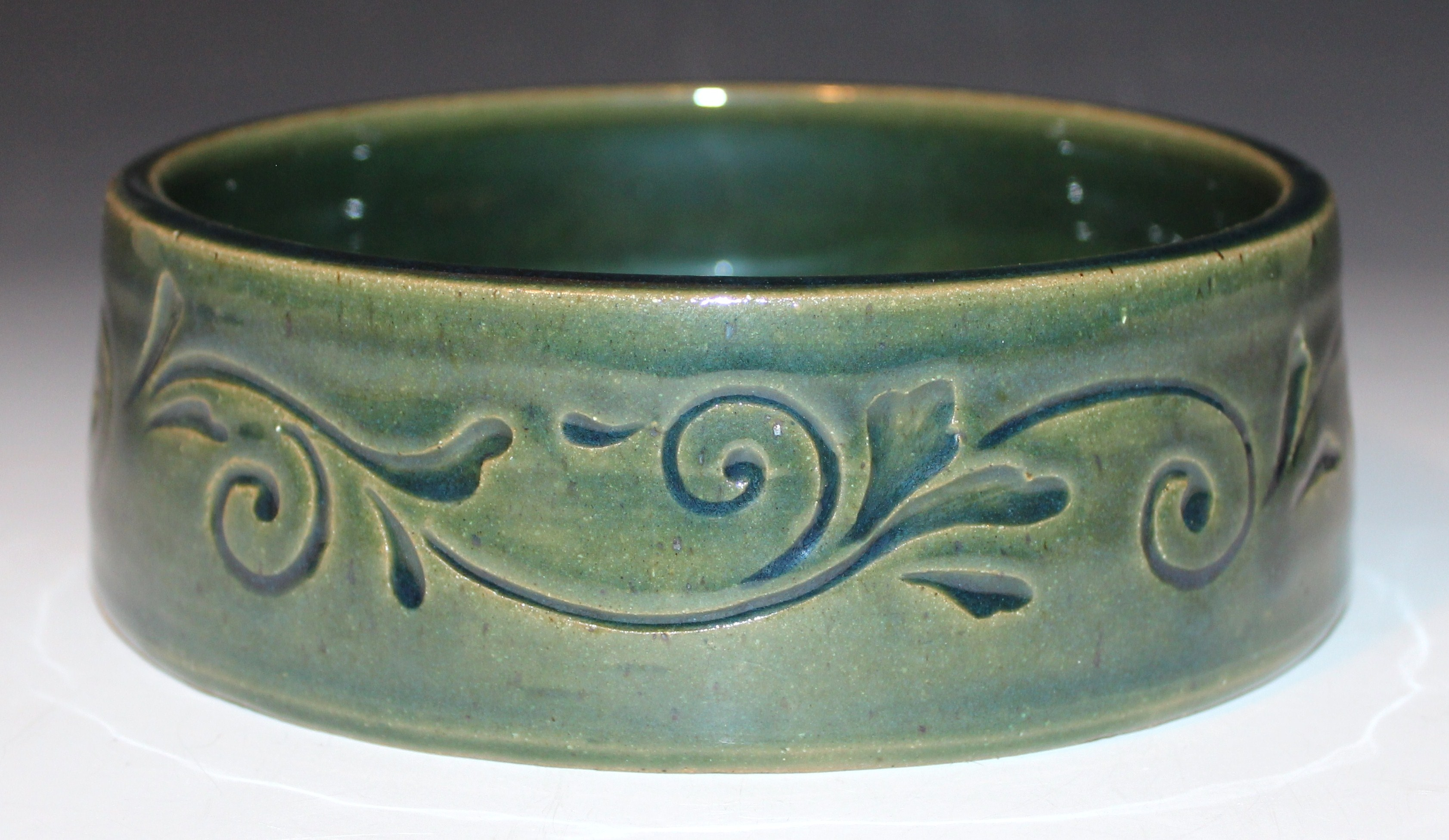 Swirling Vines Bowl