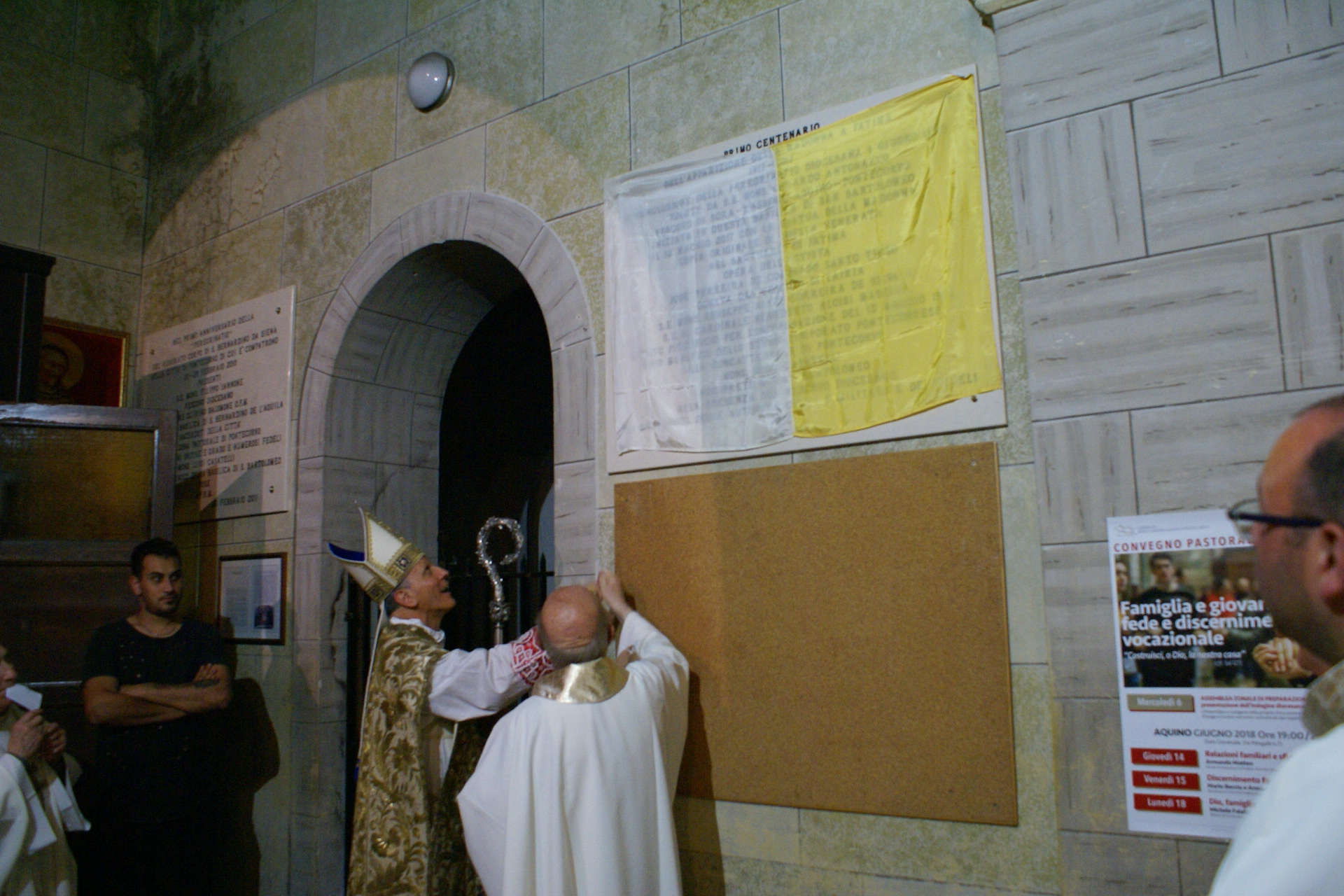 conclusione peregrinatio 215