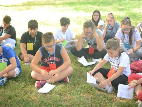 Campo-Scuola dei ragazzi a Canneto