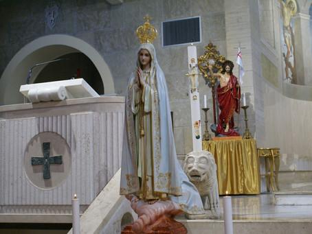 13 Maggio: apparizione della Madonna a Fatima