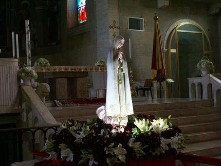 """""""Peregrinatio"""" della statua della Madonna di Fatima"""