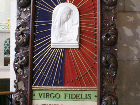 """Virgo Fidelis"" patrona dell'Arma dei Carabinieri"