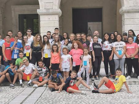 Campo Scuola dei ragazzi a Canneto