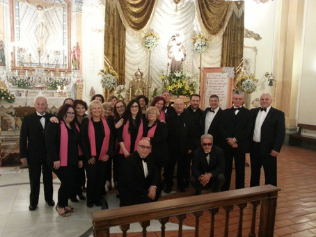 La Corale a Cassino per le celebrazioni in onore di Sant'Antonio