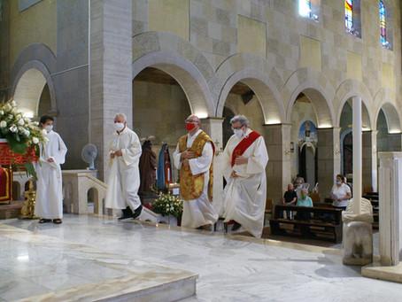 Atto di affidamento a San Giovanni Battista dei bambini  battezzati nel corso dell'anno