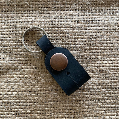 Drum Key Keyring - Black