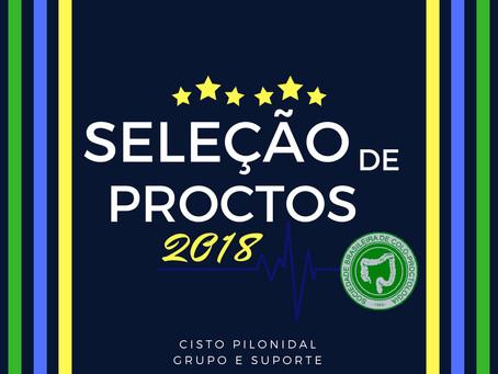 SELEÇÃO DE PROCTO 2018