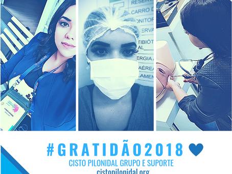 #GRATIDÃO2018