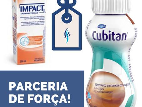 PARCERIA DE FORÇA!