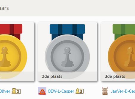 Casper 2e van Nederland!