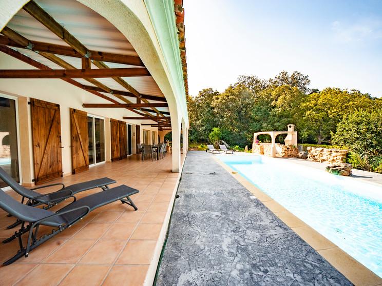 Piscine, jardin & terrasse