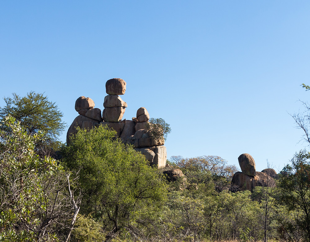 The Balancing Rocks of Matobo National Park, Zimbabwe